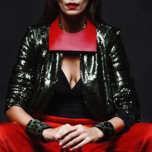 High Fashion Collar Necklace Choker Women Red